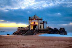 Praia de Miramar. Entre as melhores praias da Europa.