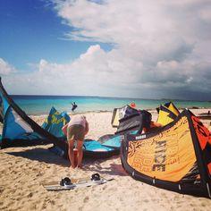 Kite beach - love my kite surf clients Kite, Surfboard, Vacations, Caribbean, Beach Mat, Surfing, Outdoor Blanket, Sun, Holidays
