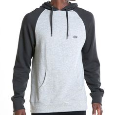 Obey Drank Pullover Hoodie (Graphite) $61.95
