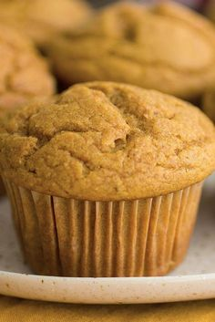 NYT Cooking: These muffins are just the right amount of sweet, lightly spiced and deeply orange, thanks to the addition of ground turmeric. Browning the butter beforehand may seem like a fussy step, but it provides a vaguely nutty, deeply caramelized flavor that makes for a superlative muffin.