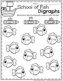Summer Literacy Worksheets for First Grade Digraphs Worksheets, Literacy Worksheets, First Grade Worksheets, First Grade Activities, Alphabet Worksheets, Literacy Year 1, Summer Worksheets, First Grade Phonics
