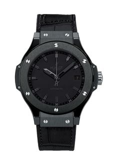 Big Bang Black Ceramic 38mm Automatic watch from Hublot