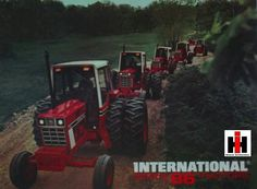 This is a backpage of a Series 86 black tractor foldout I have.First saw a 1086 at the 1976 Schagticoke Fair Truck And Tractor Pull, Red Tractor, Tractor Pulling, Antique Tractors, Vintage Tractors, Vintage Farm, Case Ih Tractors, Farmall Tractors, International Tractors
