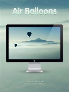 Air Balloons by YaroManzarek.deviantart.com on @deviantART