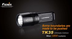 Fenix TK35 Ultimate Edition, MT-G2 LED, Max 1800 luemns