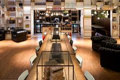 """To cater to the needs of an emerging breed of """"business nomads,"""" cheap-chic hotel brand citizenM has created a new space for these guests called SocietyM."""