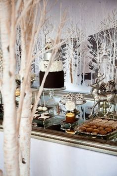 Winter Party Decor