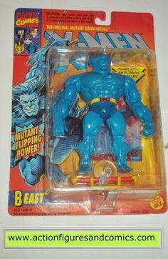 X-MEN X-Force toy biz BEAST 1994 marvel universe moc mip mib action figures
