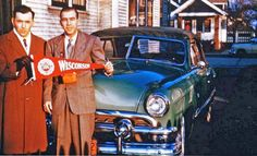 early 1950s ford convertible