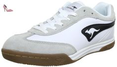 Kangaroos 7270A, Chaussures de sport homme - Blanc (Wht/Blk 5), 47 EU - Chaussures kangaroos (*Partner-Link)