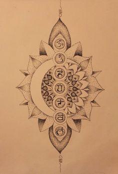 Chakra Tattoo Back . 40 Chakra Tattoo Back . Yoga Tattoos, Back Tattoos, Future Tattoos, Body Art Tattoos, New Tattoos, Tatoos, Chakra Tattoo, Kundalini Tattoo, Ohm Tattoo