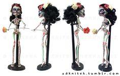 Skelita Calaveras Custom by zakniteh