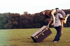 this is something that Trista does to Lanaya!!!!!!!!!!!!!!!!!! :) (not dragging a big trunk though...:)
