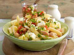 Nudelsalat - die 21 schönsten Rezept-Ideen - lauwarmer-penne-salat  Rezept