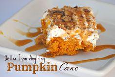 The Farm Girl Recipes: Better Than Anything Pumpkin Cake