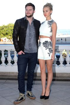 Jack Reynor and Nicola Peltz attend the photocall for Paramount Pictures' 'Transformers: Age of Extinction' at Copacabana Palace Hotel on July 17, 2014 in Rio de Janeiro, Brazil