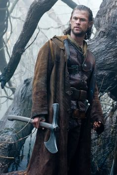 The Huntsman From Snow White and the Huntsman- he was good, everyone was good actually, except that Stewart female