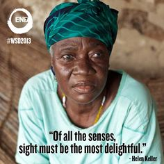 River Blindness and Trachoma are two neglected tropical diseases that cause blindness. We can end this! www.end7.org
