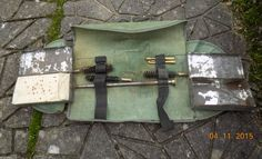 Irish volunteer Webley .455/38 cleaning kit; EXTREMELY RARE in Collectables, Militaria, Surplus/ Equipment | eBay