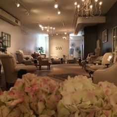 We love how the display of our Stonehaven Collection turned out! Featured at #HPMkt 2014.