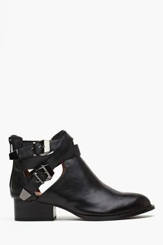 Jeffrey Campbell Everly Cutout Boot | Shop Booties at Nasty Gal