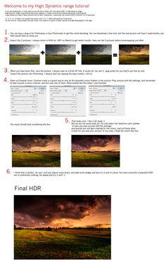 HDR tutorial by ~Initio on deviantART
