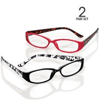 Fashionable Two-Pack Readers