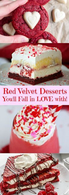 Red Velvet Desserts You'll Fall in LOVE with!