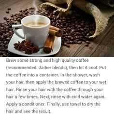 How To: Naturally Darken Hair (no dye needed) Darken Hair Naturally, How To Darken Hair, Natural Beauty Tips, Organic Beauty, Natural Hair Styles, Wet Hair, Hair A, Natural Make Up, Natural Skin Care