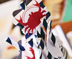 americana-nautical-low-country-boil-crab-party-straws