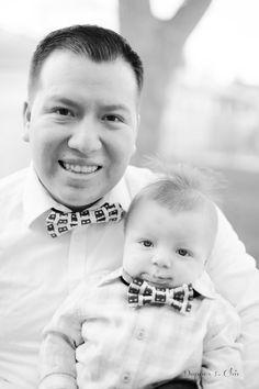 Daddy & Me Bow Ties www.dapperchic.com