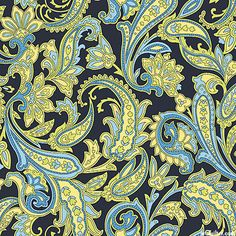 Indian Summer - Paisleys Evermore - Navy
