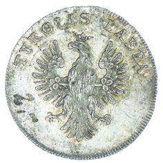 Jeton 1790 auf die Huldigung von Tirol Silber, Av: TYROLIS LAETA Tiroler Adler, Rv: 8 Zeilen Schrift