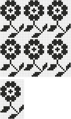 Käina kindakiri, Estonia Fair Isle Knitting Patterns, Fair Isle Pattern, Knitting Charts, Lace Knitting, Knitting Stitches, Knitting Designs, Knit Patterns, Embroidery Patterns, Stitch Patterns