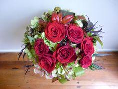 Red Rose Vintage Bouquet