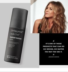 Discover Jennifer Aniston's secret weapon for perfectly tousled hair - on the #Sephora Glossy>