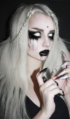 › creepy halloween costumes. Ghost Make Up - Get the white out contacts. Easier to get the ones where you still see your pupil but still very creepy.