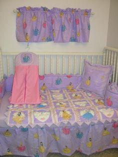 Disney princesses crib set crib bedding set made w disney princess