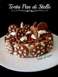 Pan di stelle torta semifreddo biscotti crema e nutella ricetta semplice e golosissima - wings of sugar blog