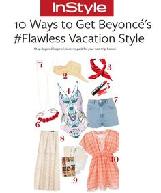 InStyle knows our Beach tunic is perfect for the Summer weather.