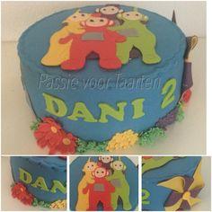 Teletubbie cake by Passie voor Taarten