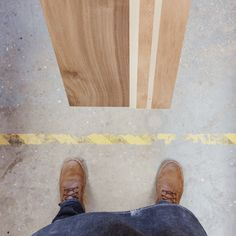 How Side Project Skateboards Are Made Make A Skateboard, Wood Slab, Deconstruction, Make Design, Custom Leather, Skateboards, Cutting Board, Projects, Milk