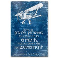 Toutes les grandes personnes ont d'abord été des enfants, mais peu d'entre elles s'en souviennent. Le Petit Prince, Antoine de Saint-Exupéry.