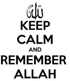 Verily in the remembrance of Allah do hearts find rest. :)