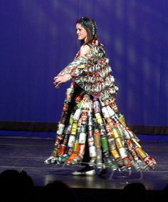 we CAN recycle - school recycled wearable art