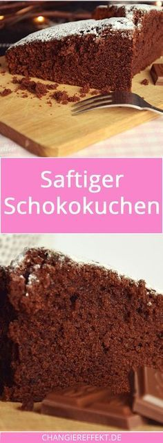 Dieser saftige Schokokuchen ist schnell und einfach gemixt, du brauchst dafür nur wenige Zutaten, die du vermutlich sowieso zu Hause hast, und er schmeckt richtig schokoladig!