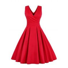 SHARE & Get it FREE | Retro Back Bowtie Sleeveless Midi DressFor Fashion Lovers only:80,000+ Items • FREE SHIPPING Join Twinkledeals: Get YOUR $50 NOW!