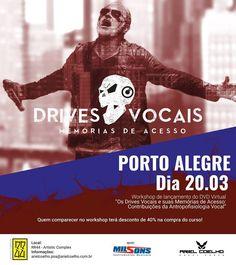 O novo Complexo Artístico Cultural de Porto Alegre, RR44 orgulhosamente anuncia seu primeiro evento oficial. E não poderia começar de maneira mais positiva! Está confirmado um workshop de um dos ma…