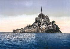 Mont saint michel, niektoré legendy ho opradúvajú myšlienkou prítomnosti kráľa Artuša