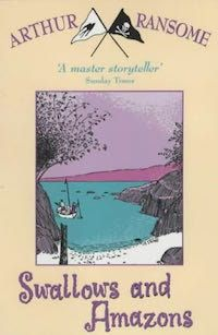 Reading Swallows and Amazons took me back to my own childhood adventures.